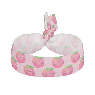 Positive Peach Pun - Peachy Hair Tie