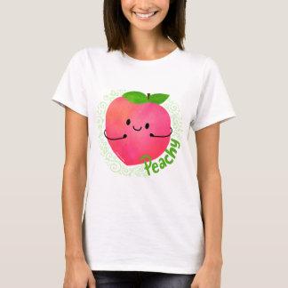 Positive Peach Pun - Peachy T-Shirt
