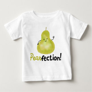 Positive Pear Pun - Pearfection Baby T-Shirt