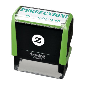 "Positive ""PERFECTION!"" Marking Rubber Stamp"