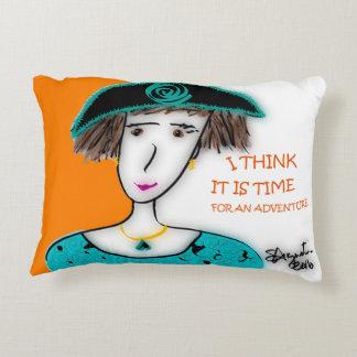 POSITIVE PILLOWS! - custom designed accent pillow