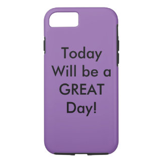 Positive quote iPhone 7 case
