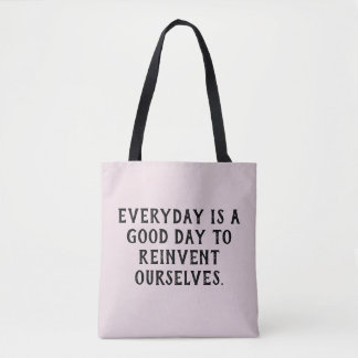 Positive quote... tote bag
