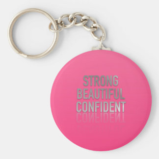 Positive Quotes Keychain