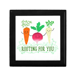 Positive Root Pun - Rooting for you Gift Box