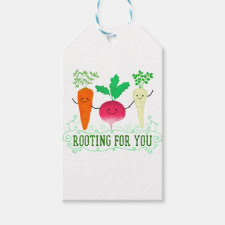 Positive Root Pun - Rooting for you Gift Tags