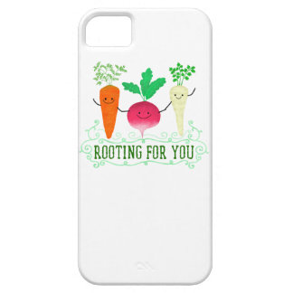 Positive Root Pun - Rooting for you iPhone 5 Cover