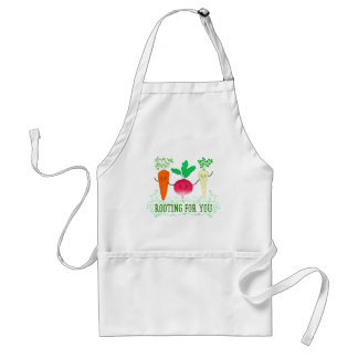 Positive Root Pun - Rooting for you Standard Apron
