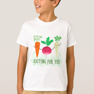 Positive Root Pun - Rooting for you T-Shirt