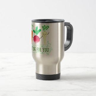Positive Root Pun - Rooting for you Travel Mug