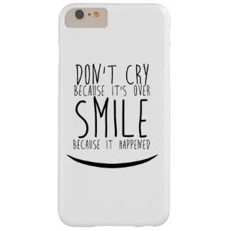 Positive smile barely there iPhone 6 plus case