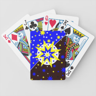Positive Stars Bicycle Playing Cards