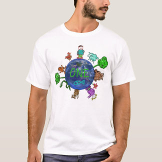 Positive thinking from ONE(one world,one family) T-Shirt