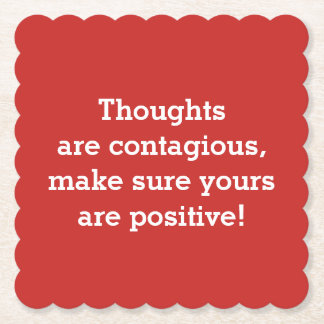 Positive Thoughts Coasters