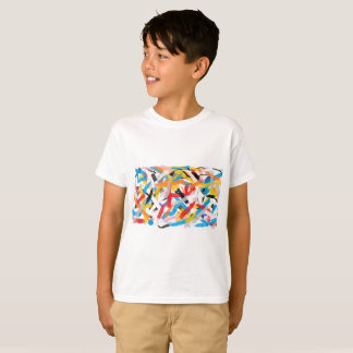 Positive Vibes Splah of color T-shirt