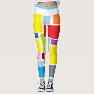 Positive Vibes Splash of color Leggings