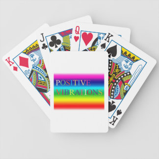 Positive Vibrations Poker Deck