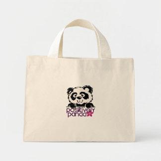 Positively Panda (Flower) Mini Tote Bag
