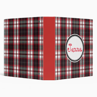Positively Plaid 3-Ring Binders