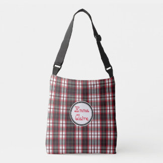 Positively Plaid Cross Body Bag