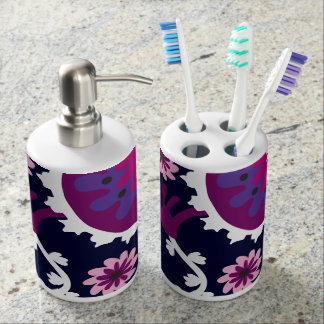 Positively Purple Bathroom Set