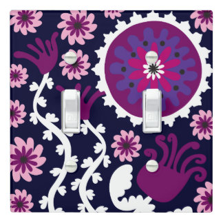 Positively Purple Light Switch Cover