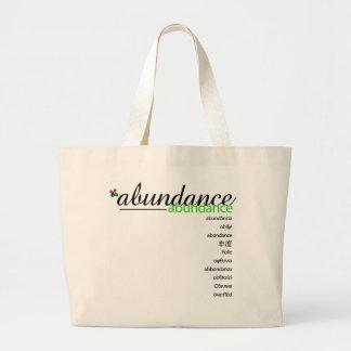 PositivEnergy Abundance Tote Canvas Bag