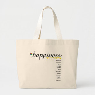 PositivEnergy Happiness Tote Canvas Bag