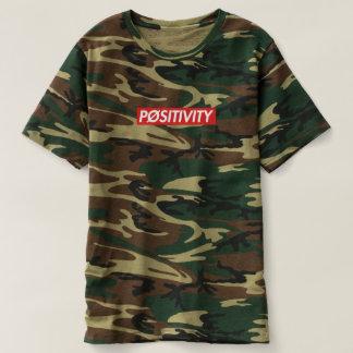 """""""PØSITIVITY"""" Camo T-Shirt"""