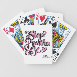 Positivity Design Bicycle Playing Cards