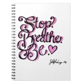 Positivity Design Spiral Note Book