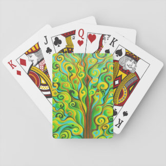 Positronic Spirit Tree Playing Cards
