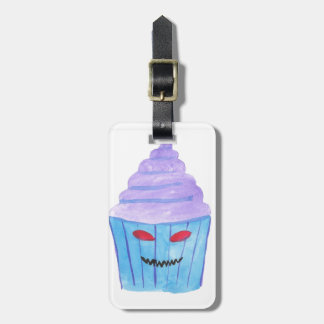 Possessed Cupcake Luggage Tag