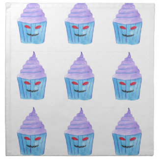 Possessed Cupcake Napkin