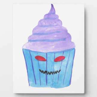 Possessed Cupcake Plaque
