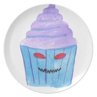 Possessed Cupcake Plate