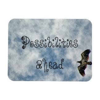 Possibilities Ahead Magnet