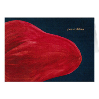 Possibilities Empty Greeting Card