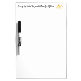 Possibilities of a Lifetime Dry Erase Board