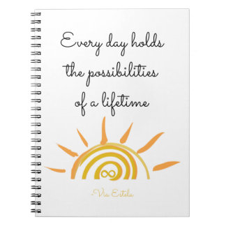 Possibilities of a Lifetime Notebook