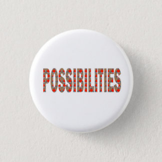 POSSIBILITIES : Wisdom Words Coach Mentor LOWPRICE 1 Inch Round Button