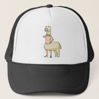 Possibility English story Nasu of alpaca Plateau Trucker Hat