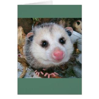 Possie Baby Warm Greeting Card