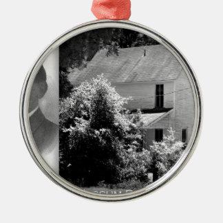Possum Poke home of Governor Chase S. Osborn Silver-Colored Round Ornament