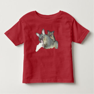 Possums girl toddler t-shirt