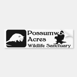 Possumwood Acres Logo Bumper Sticker