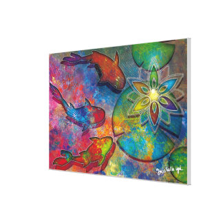post-Alchemy-spiritual Canvas Print