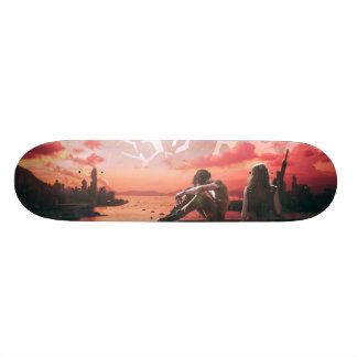 Post Apocalyptic Board Skateboard Decks