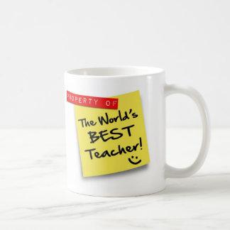 Post BEST TEACHER - mug