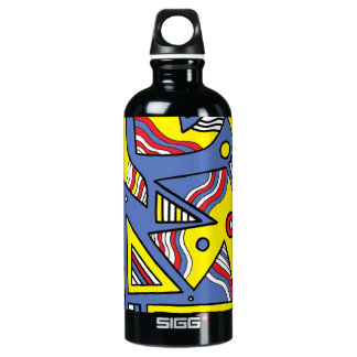 """Post"" Black Traveller Water Bottle"